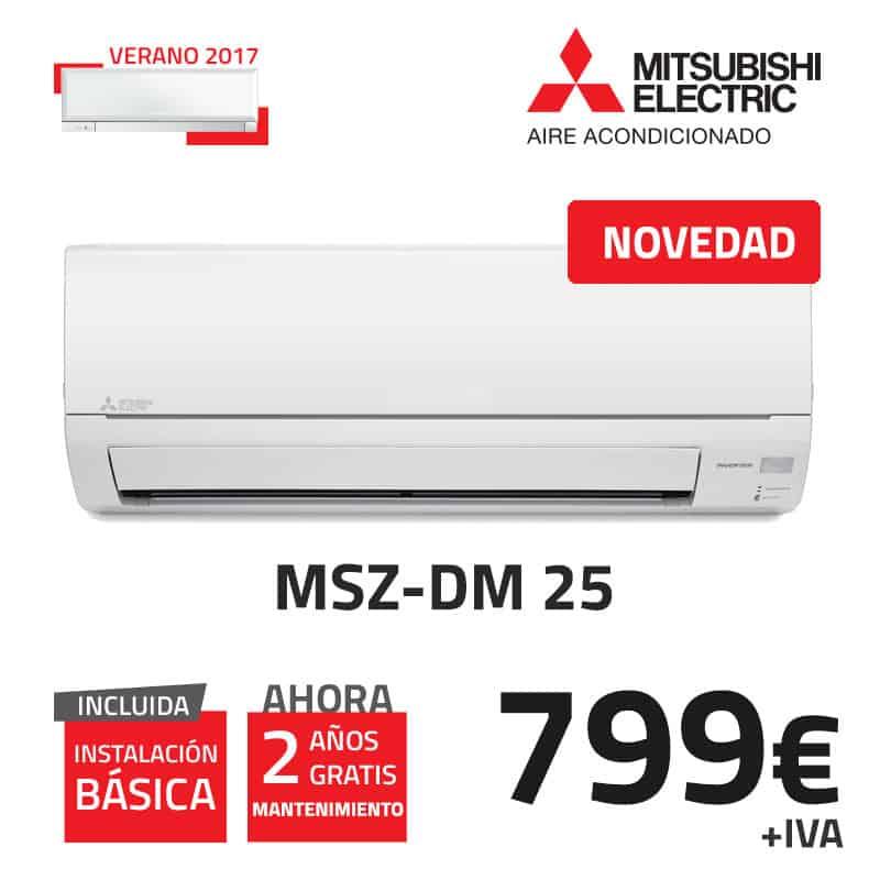 mitsubishi-electric-msz-dm-25-aire-acondicionado
