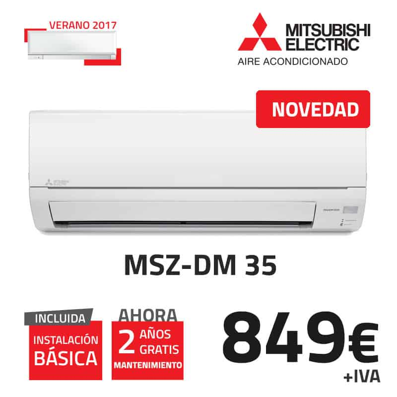 mitsubishi-electric-msz-dm-35-aire-acondicionado