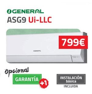General-fujitsu ASG9 Aire Acondicionado