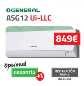 General-fujitsu ASG12 Aire Acondicionado