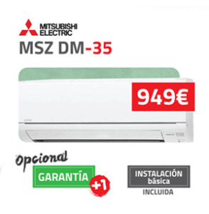 Mitsubishi Electric DM 25 aire acondicionado