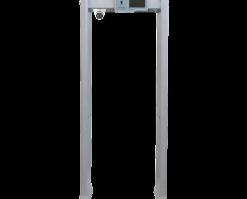 instalacion arco de deteccion con control temperatura