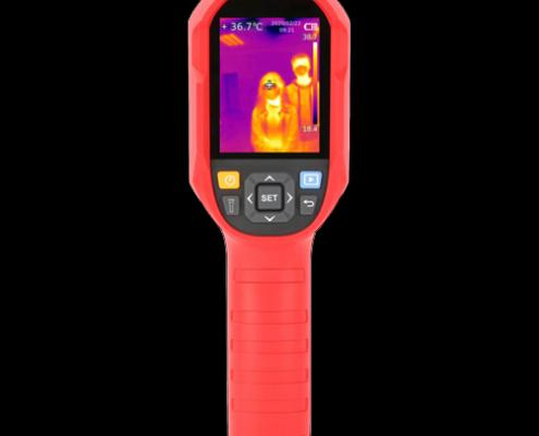 sistema termografia portatil para accesos de mano