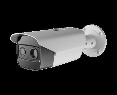 cámara termografia dual IP instalacion de equipo 2