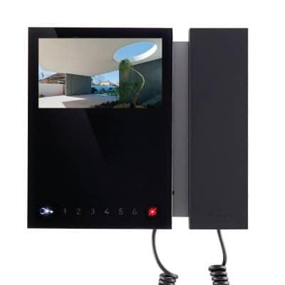 comelit-4-vidoportero-monitor-negro-madrid