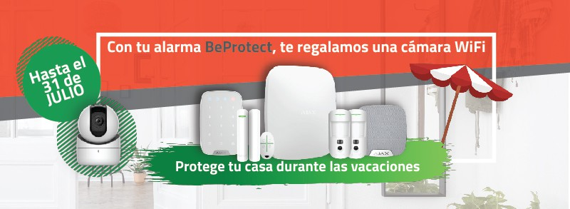 BeProtect-alarma para hogares