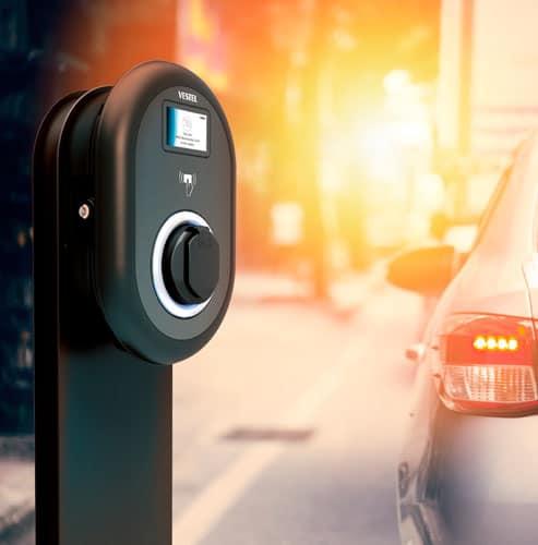 Recarga de vehículo eléctrico en Madrid
