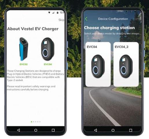 vestel-drive-green-app-app