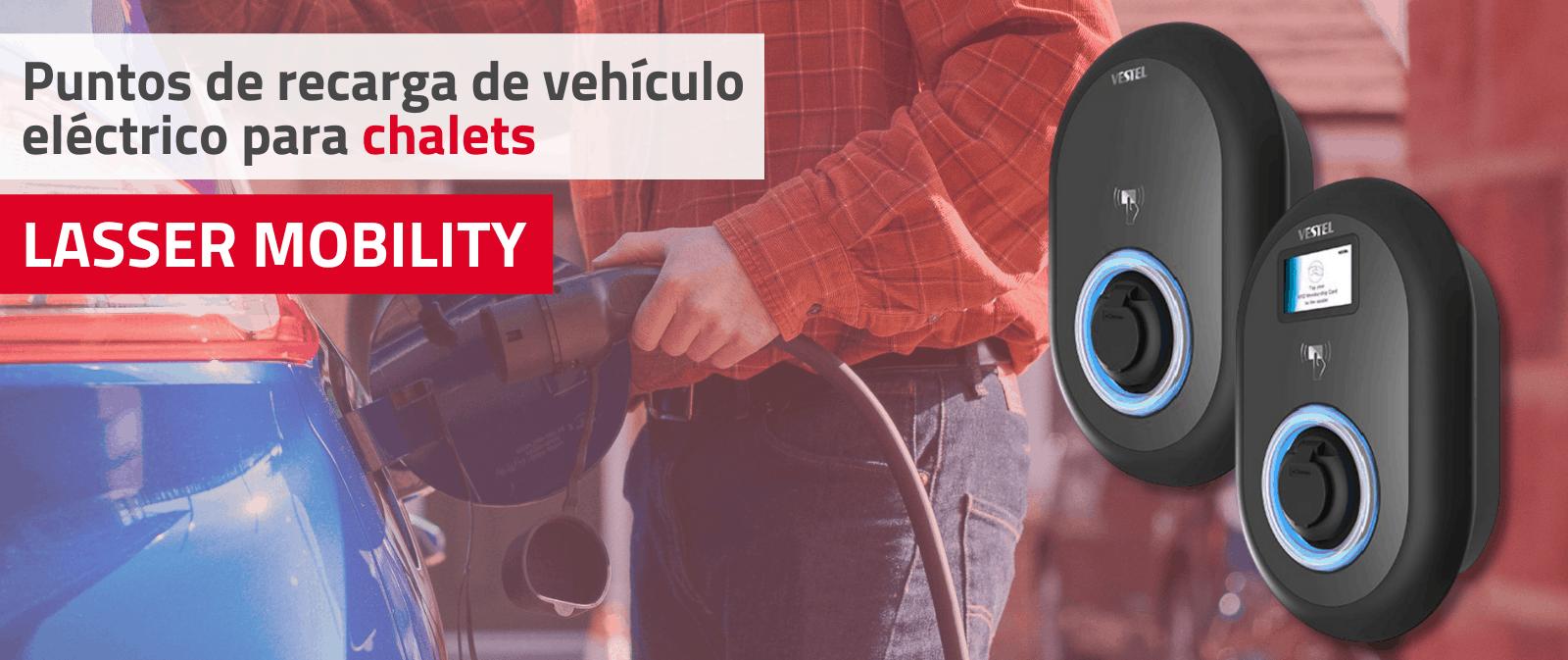 Recarga de vehículo eléctrico para chalets