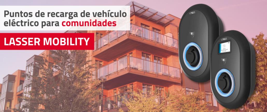 Recarga de vehículo eléctrico para comunidades