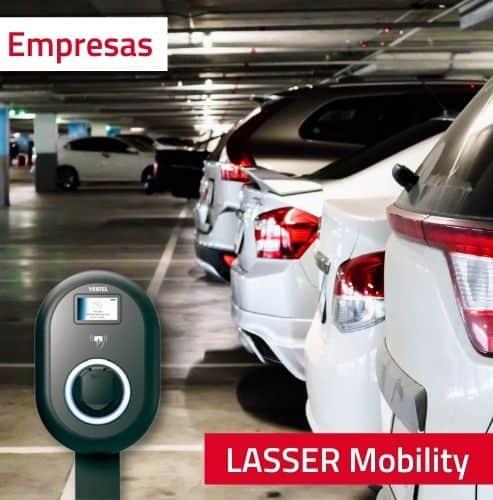 Recarga de vehículo eléctrico para empresas
